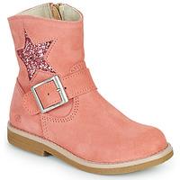 Παπούτσια Κορίτσι Μπότες Citrouille et Compagnie POUDRE Ροζ