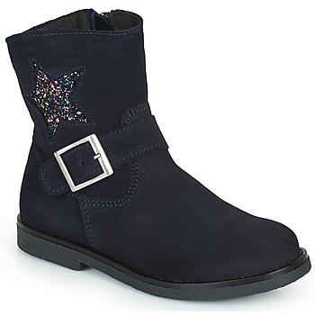 Παπούτσια Κορίτσι Μπότες Citrouille et Compagnie POUDRE Marine