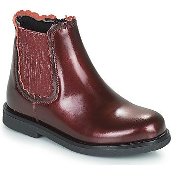 Παπούτσια Κορίτσι Μπότες Citrouille et Compagnie PRAIRIE Bordeaux