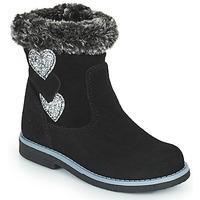 Παπούτσια Κορίτσι Μπότες για την πόλη Citrouille et Compagnie PARAVA Black