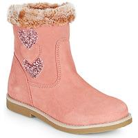 Παπούτσια Κορίτσι Μπότες για την πόλη Citrouille et Compagnie PARAVA Ροζ