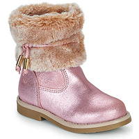 Παπούτσια Κορίτσι Μπότες Citrouille et Compagnie PAKRETTE Ροζ / Irisé