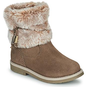 Παπούτσια Κορίτσι Μπότες Citrouille et Compagnie PAKRETTE Camel