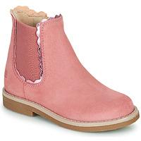 Παπούτσια Κορίτσι Μπότες Citrouille et Compagnie PRAIRIE Ροζ