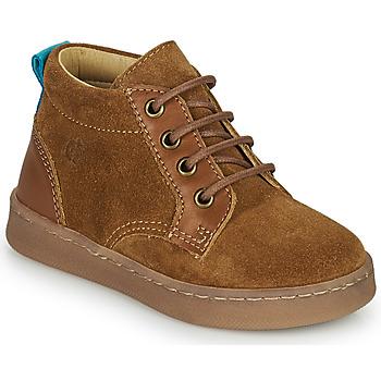 Παπούτσια Αγόρι Ψηλά Sneakers Citrouille et Compagnie PACELLE Camel