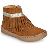 Παπούτσια Κορίτσι Μπότες Citrouille et Compagnie PIDOUTE Camel