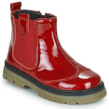 Παπούτσια Κορίτσι Μπότες Citrouille et Compagnie PATATA Red / Vernis