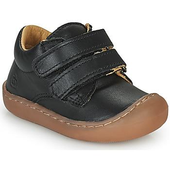 Παπούτσια Παιδί Χαμηλά Sneakers Citrouille et Compagnie PIOTE Black