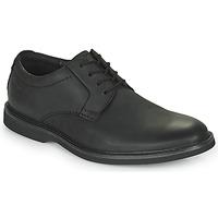 Παπούτσια Άνδρας Derby Clarks ATTICUS LTLACE Black