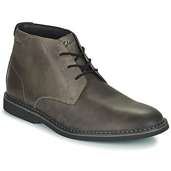 Παπούτσια Άνδρας Μπότες Clarks ATTICUSLT MID Grey