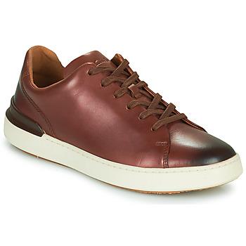 Παπούτσια Άνδρας Derby Clarks COURTLITE LACE Brown