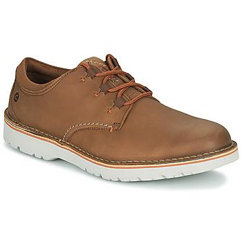 Παπούτσια Άνδρας Derby Clarks EASTFORD LOW Camel