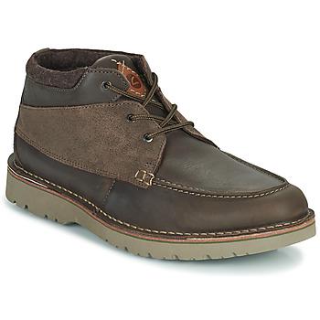 Παπούτσια Άνδρας Μπότες Clarks EASTFORD TOP Brown