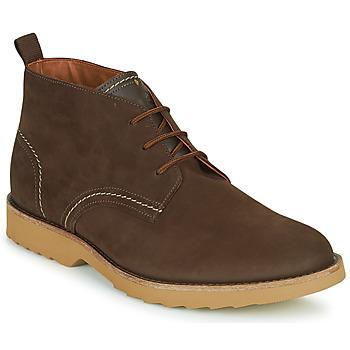 Παπούτσια Άνδρας Μπότες Clarks FALLHILL MID Brown