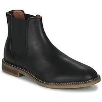 Παπούτσια Άνδρας Μπότες Clarks JAXEN CHELSEA Black