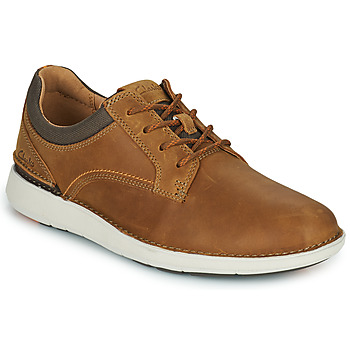 Παπούτσια Άνδρας Derby Clarks LARVIK TIE Camel
