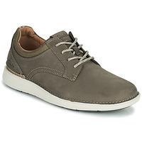 Παπούτσια Άνδρας Derby Clarks LARVIK TIE Brown