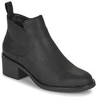 Παπούτσια Γυναίκα Μποτίνια Clarks MEMI ZIP Black