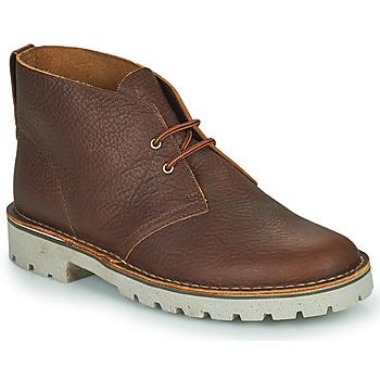 Παπούτσια Άνδρας Μπότες Clarks OVERDALE MID Camel