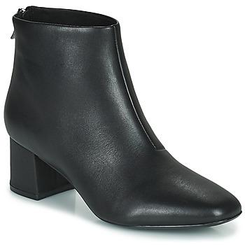 Παπούτσια Γυναίκα Μποτίνια Clarks SHEER55 ZIP Black