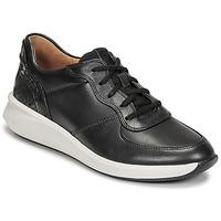 Παπούτσια Γυναίκα Χαμηλά Sneakers Clarks UN RIO SPRINT Black