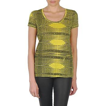 Υφασμάτινα Γυναίκα T-shirt με κοντά μανίκια Eleven Paris DARDOOT Yellow