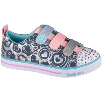 Παπούτσια Παιδί Χαμηλά Sneakers Skechers Sparkle Lite Heartsland Bleu marine
