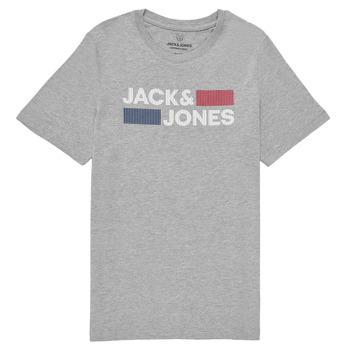Υφασμάτινα Αγόρι T-shirt με κοντά μανίκια Jack & Jones JJECORP LOGO TEE SS Grey