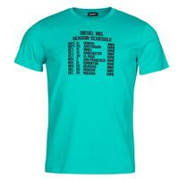 Υφασμάτινα Άνδρας T-shirt με κοντά μανίκια Diesel T-DIEGOS Μπλέ