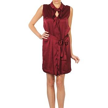 Υφασμάτινα Γυναίκα Κοντά Φορέματα Lola ROSE ESTATE Bordeaux