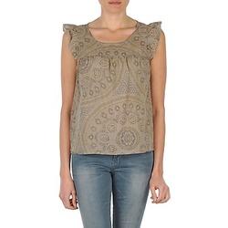 Υφασμάτινα Γυναίκα Αμάνικα / T-shirts χωρίς μανίκια Bensimon SADIE TAUPE