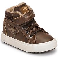 Παπούτσια Αγόρι Ψηλά Sneakers Kangaroos KAVU III Brown