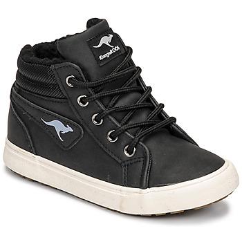 Παπούτσια Αγόρι Ψηλά Sneakers Kangaroos KAVU I Black