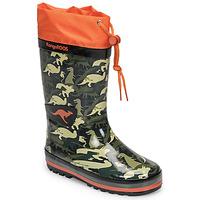 Παπούτσια Αγόρι Μπότες βροχής Kangaroos K-RAIN Kaki