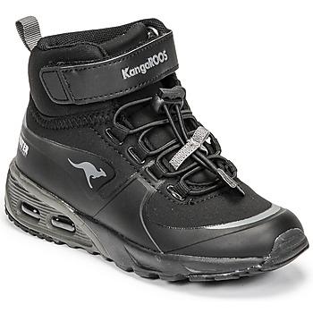 Παπούτσια Αγόρι Ψηλά Sneakers Kangaroos KX-HYDRO Black