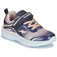 Παπούτσια Κορίτσι Χαμηλά Sneakers Kangaroos K-MAID GLEAM EV Μπλέ / Silver