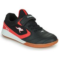 Παπούτσια Παιδί Χαμηλά Sneakers Kangaroos K5-COURT EV Black / Red