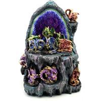 Σπίτι Αγαλματίδια και  Signes Grimalt Οθόνη Με 12 Dragons 12U Azul