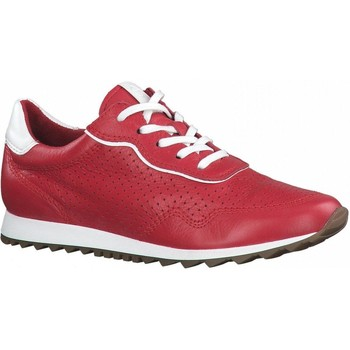 Xαμηλά Sneakers Tamaris Red White Casual Trainers