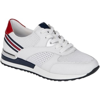 Xαμηλά Sneakers Remonte Dorndorf White Silver Casual Trainers
