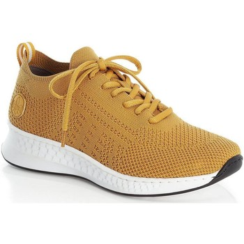 Xαμηλά Sneakers Rieker Yellow Casual Trainers