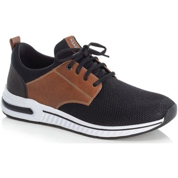 Xαμηλά Sneakers Rieker Black Amaretto Casual Trainers
