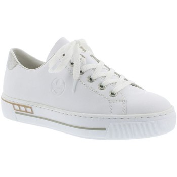 Xαμηλά Sneakers Rieker Hard White Casual Trainers