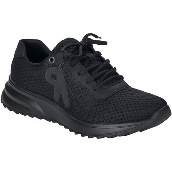 Xαμηλά Sneakers Rieker Black Casual Trainers