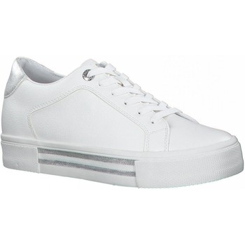 Xαμηλά Sneakers S.Oliver White Silver Casual Trainers [COMPOSITION_COMPLETE]