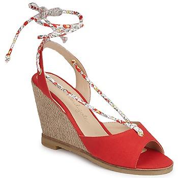 Παπούτσια Γυναίκα Σανδάλια / Πέδιλα Petite Mendigote BLONDIE Red