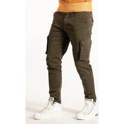 Υφασμάτινα Άνδρας παντελόνι παραλλαγής Takeshy Kurosawa  Green