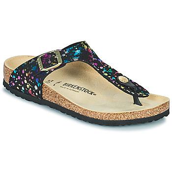 Παπούτσια Κορίτσι Σαγιονάρες Birkenstock GIZEH Black / Multicolour