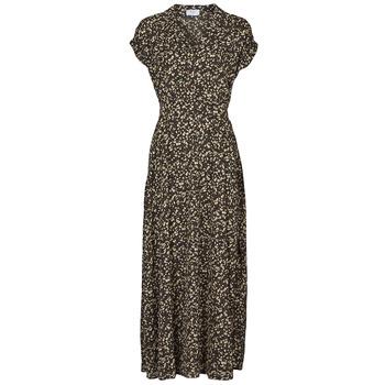 Υφασμάτινα Γυναίκα Μακριά Φορέματα Betty London PARILLA Black / Multicolour