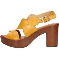 Παπούτσια Γυναίκα Σανδάλια / Πέδιλα Made In Italia 023 Yellow